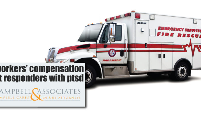 workers' compensation and first responders with ptsd