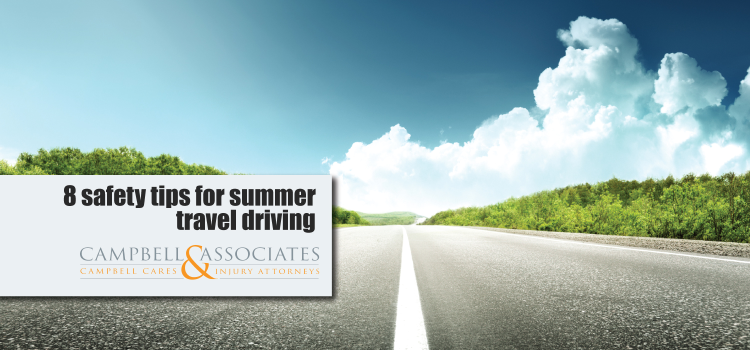 8 safety tips for summer traveling